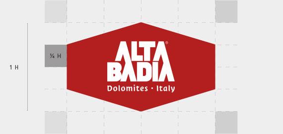 Alta Badia marchio ombrello